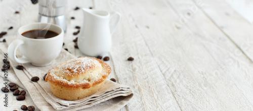 Fotografía Italian coffee set for breakfast