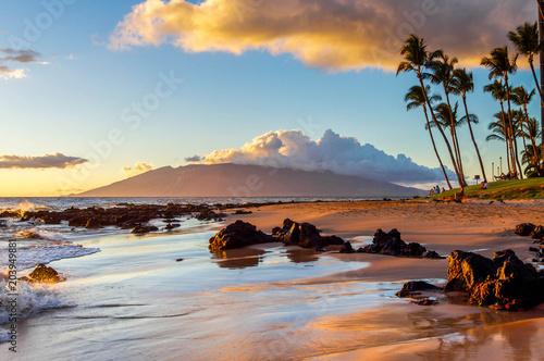 Canvas Print Maui Sunset