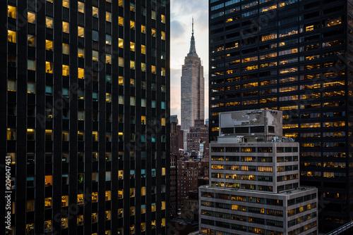 Wallpaper Mural A peek at Empire State Building.