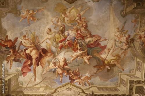 Fotografia Fresque religieuse du Palais Kinský à Vienne
