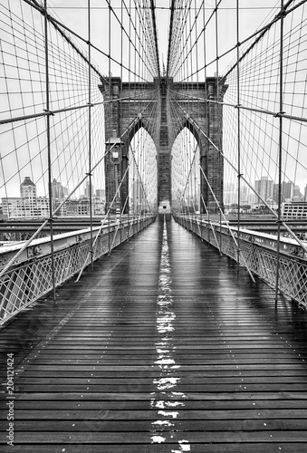 Brooklyn bridge of New York City Fototapeta