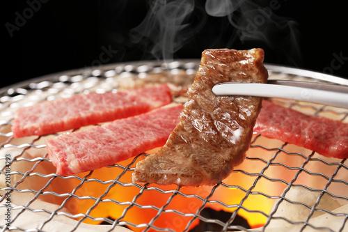 焼肉 Yakiniku. Is the Japanese version of Korean BBQ.