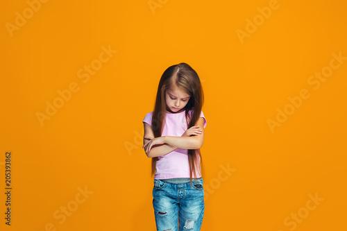 Fotografie, Tablou Beautiful teen girl looking suprised and bewildered