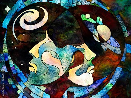 Wallpaper Mural Our Universes