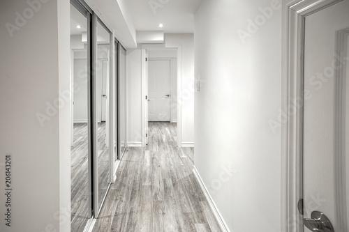 Billede på lærred Bright hallway in an apartment
