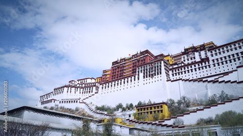 Leinwand Poster Potala palace, Lhasa, Tibet, China