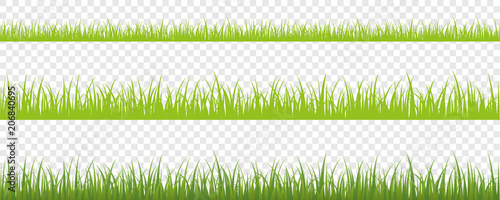 Obraz na płótnie grüne wiese hintergrund 3er Set