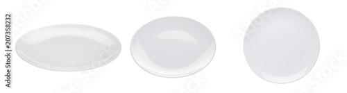 Fotografie, Obraz White plate isolated