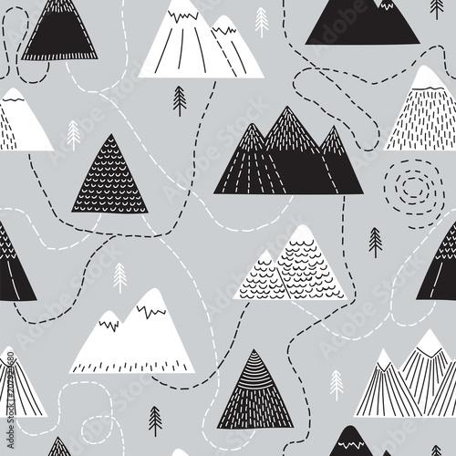 Plakat skandynawska do wnętrza urządzonego w stylu minimalistycznym