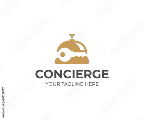 Fotografie, Obraz Concierge service logo template