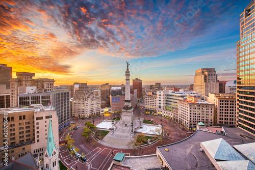 Photo Indianapolis, Indiana, USA Skyline