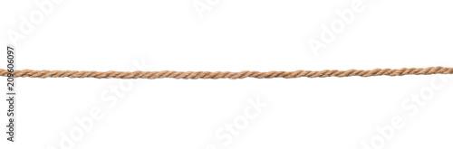 Fotografía Brown rope isolated