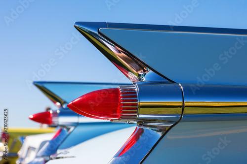 Taillights on an old Cadillac Fototapeta