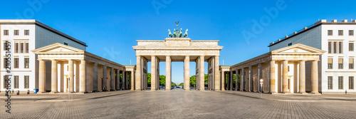Das Brandenburger Tor am Pariser Platz in Berlin, Deutschland