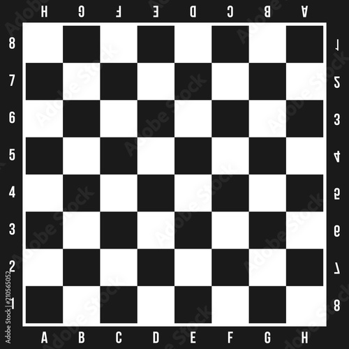 Tablou Canvas Creative vector illustration of chess board set isolated on transparent background