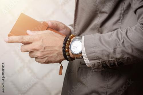 Fotografia bracelets on the wrist