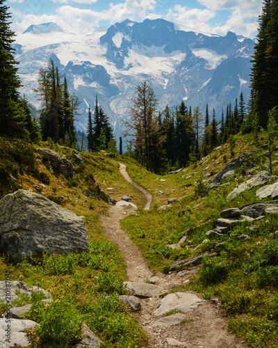 Jumbo Pass hiking trail, British Columbia, Canada Fototapete