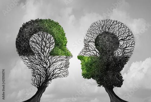 Psychology Concept Fototapeta