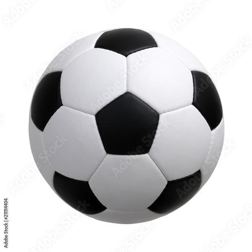Fotografija soccer ball on white