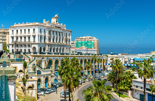 The Chamber of Commerce, a historic building in Algiers, Algeria