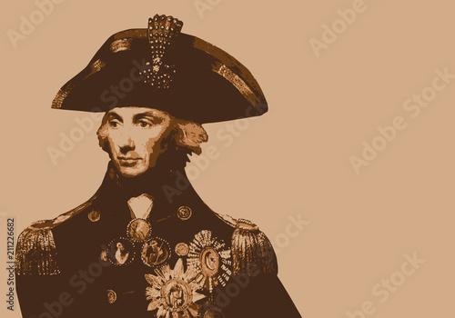 Canvas Print Amiral Nelson - portrait - Anglais - personnage célèbre - personnage - historiqu