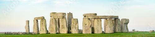 Fotografie, Obraz Morning view of Stonehenge in winter England