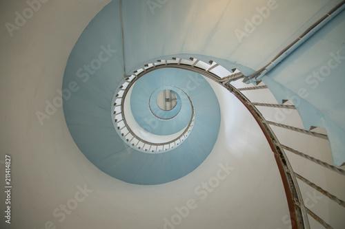 Vászonkép Treppe im Leuchtturm