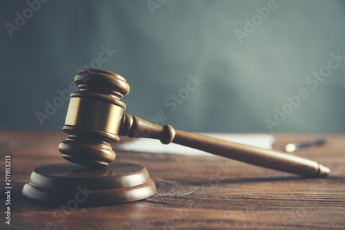 Valokuva Law and Justice concept