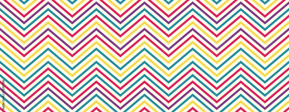 Seamless wavy lines pattern with beige background. Vector repeating texture.