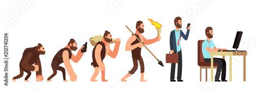 Fotografia, Obraz Human evolution