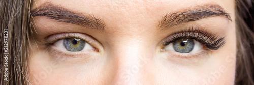 Eyelash Extension Procedure Fototapeta