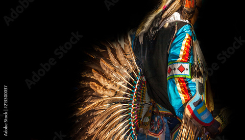Obraz na plátně Native American Indian