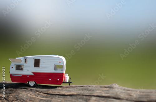 Fotografija Summer caravan vacation