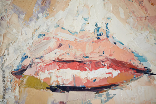 Ręcznie rysowane obraz olejny. Streszczenie sztuka tło. Obraz olejny na płótnie. Kolor tekstury Fragment dzieła sztuki. Plamy farby. Pociągnięcia pędzlem farby. Sztuka współczesna. Sztuka współczesna. Kolorowe płótno.