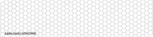 HEXAGONES graisse 1point modifiables Fototapet