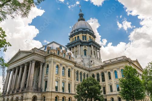 Stampa su Tela Illinois State Capital Building