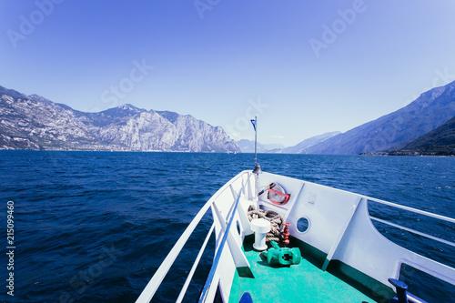 Photo Bug eines Passagierschiffes am Gardasee