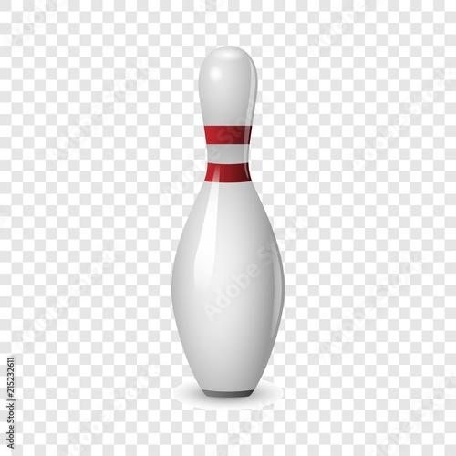 Bowling icon Fototapete