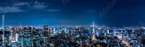 Canvas Print 東京の夜景