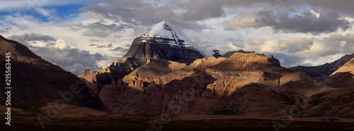 Canvas Print Mount Kailash, Kangrinboqe peak