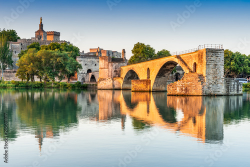 Fotografia, Obraz Avignon, Provence, France - Pont Saint-Benezet