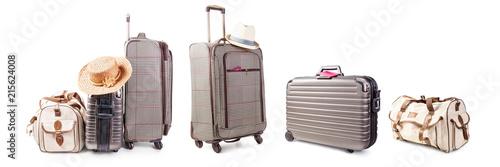 Obraz na plátně Suitcase and bag set