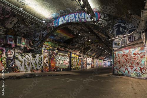 Banksky Tunnel in London