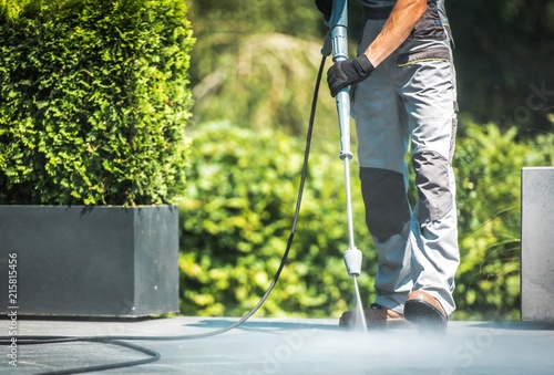 Patio Pressure Cleaning