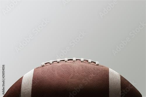 Fotografia American football ball on background