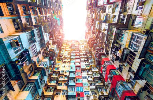 Canvas Print Apartment in Hong Kong