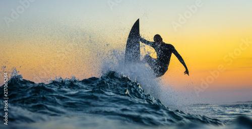 Obraz na płótnie Surf Sunset