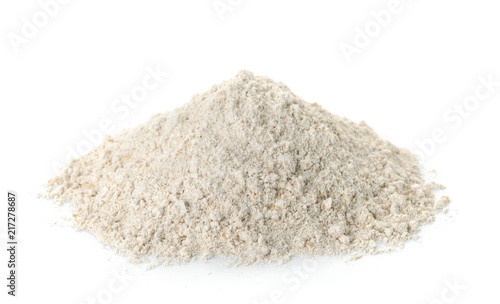 Pile of gluten free oat flour