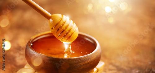 Canvas Print Honey