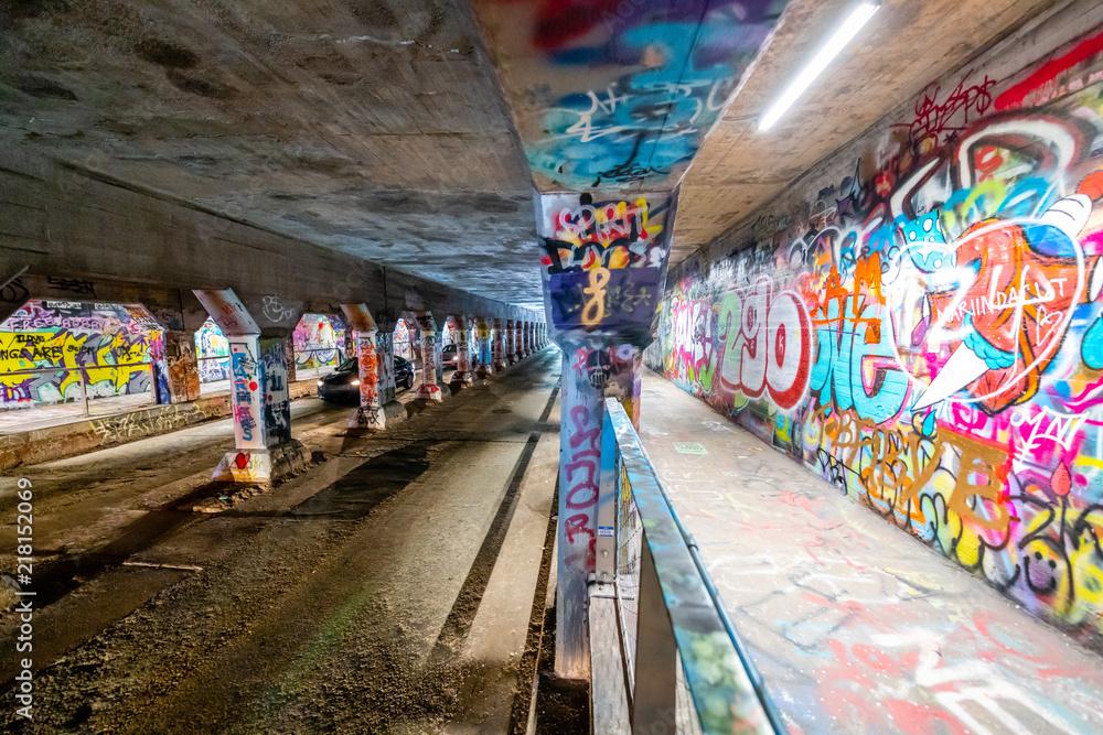 The Krog Street Tunnel <span>plik: #218152069   autor: Chris</span>